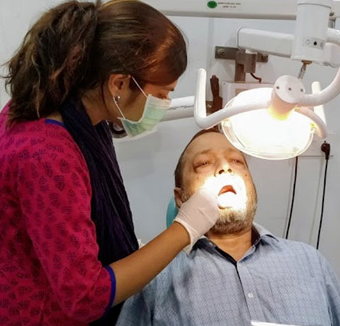Newtown Clinic Dental Checkup by Dr. Romila Paul