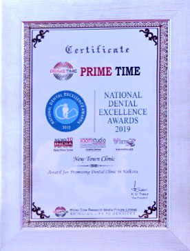 NewTown Clinic received Dental Excellence Award -2019